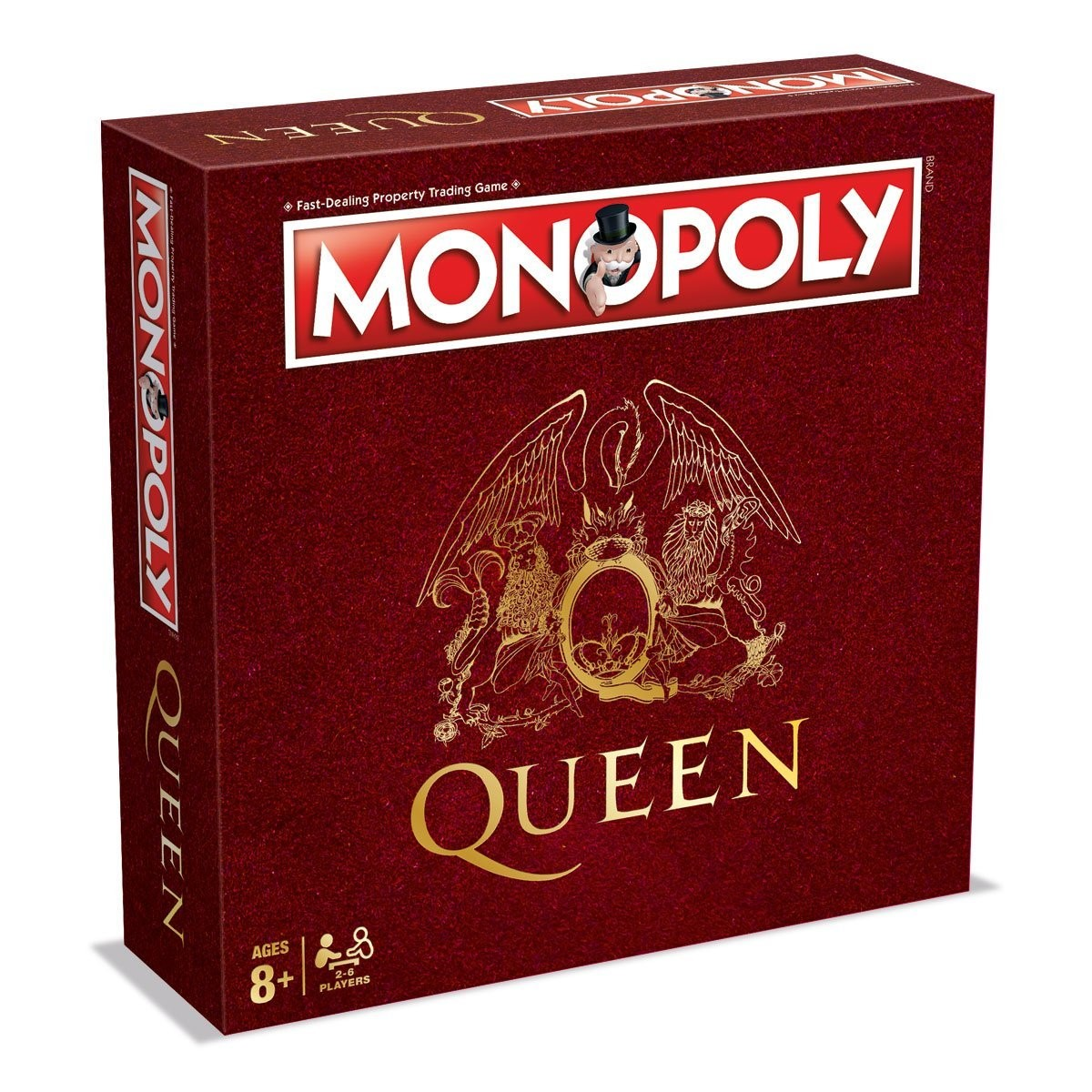 28726 - MONOPOLY QUEEN EDITION, UK VERSION Europe