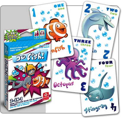 30705 - Go Fish Jumbo Playing Cards USA