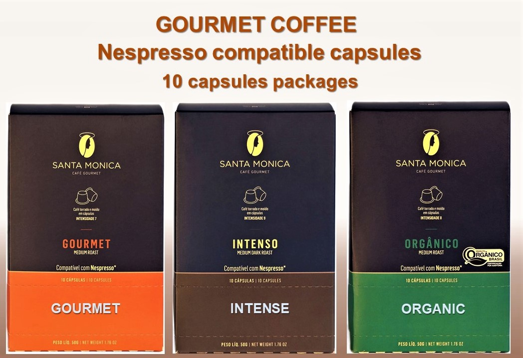 34112 - Gourmet coffee roasted beans and in capsules Europe