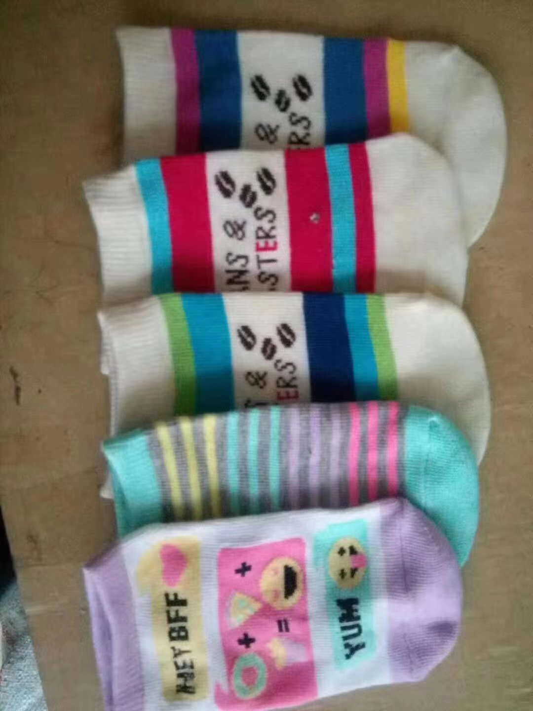 34355 - Baby Socks 100,000 pairs China