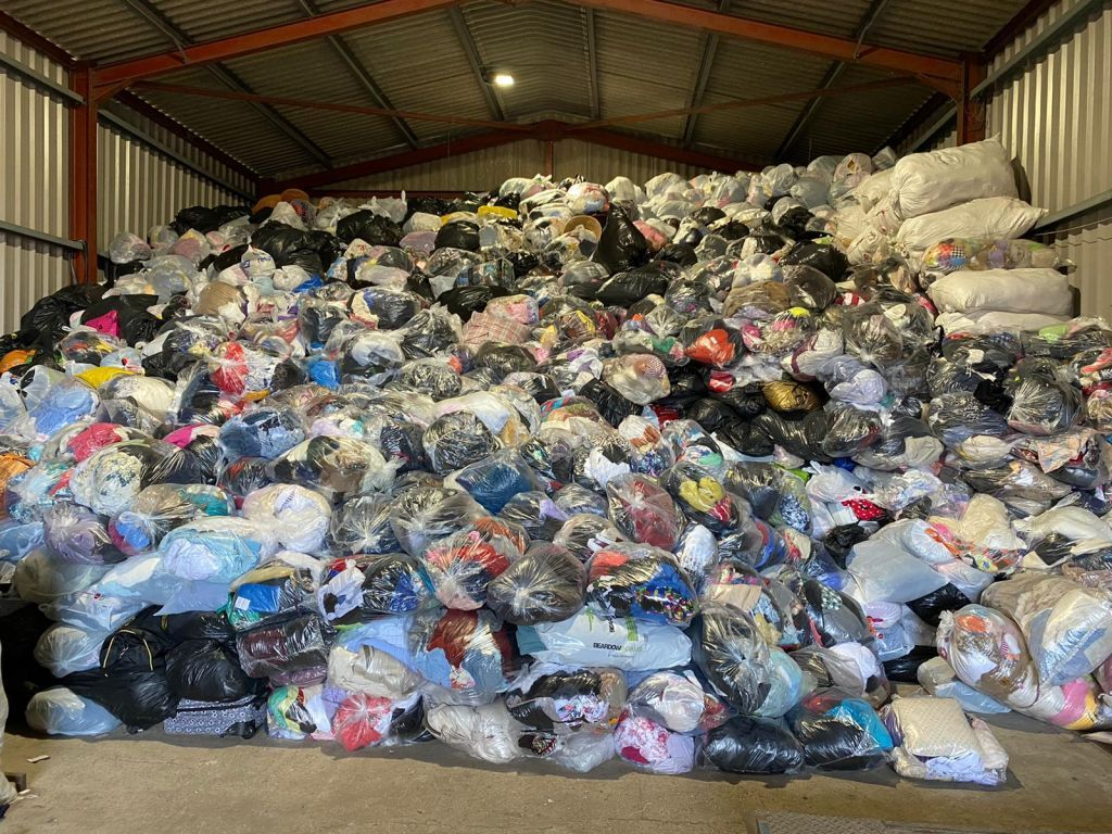 35002 - UNSORTED USED CLOTHES FROM UK Europe