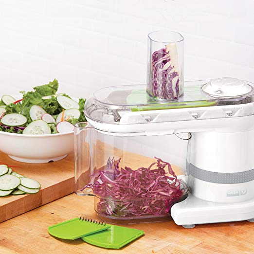 35259 - Dash Electric Mandoline & Food Slicer, White  USA