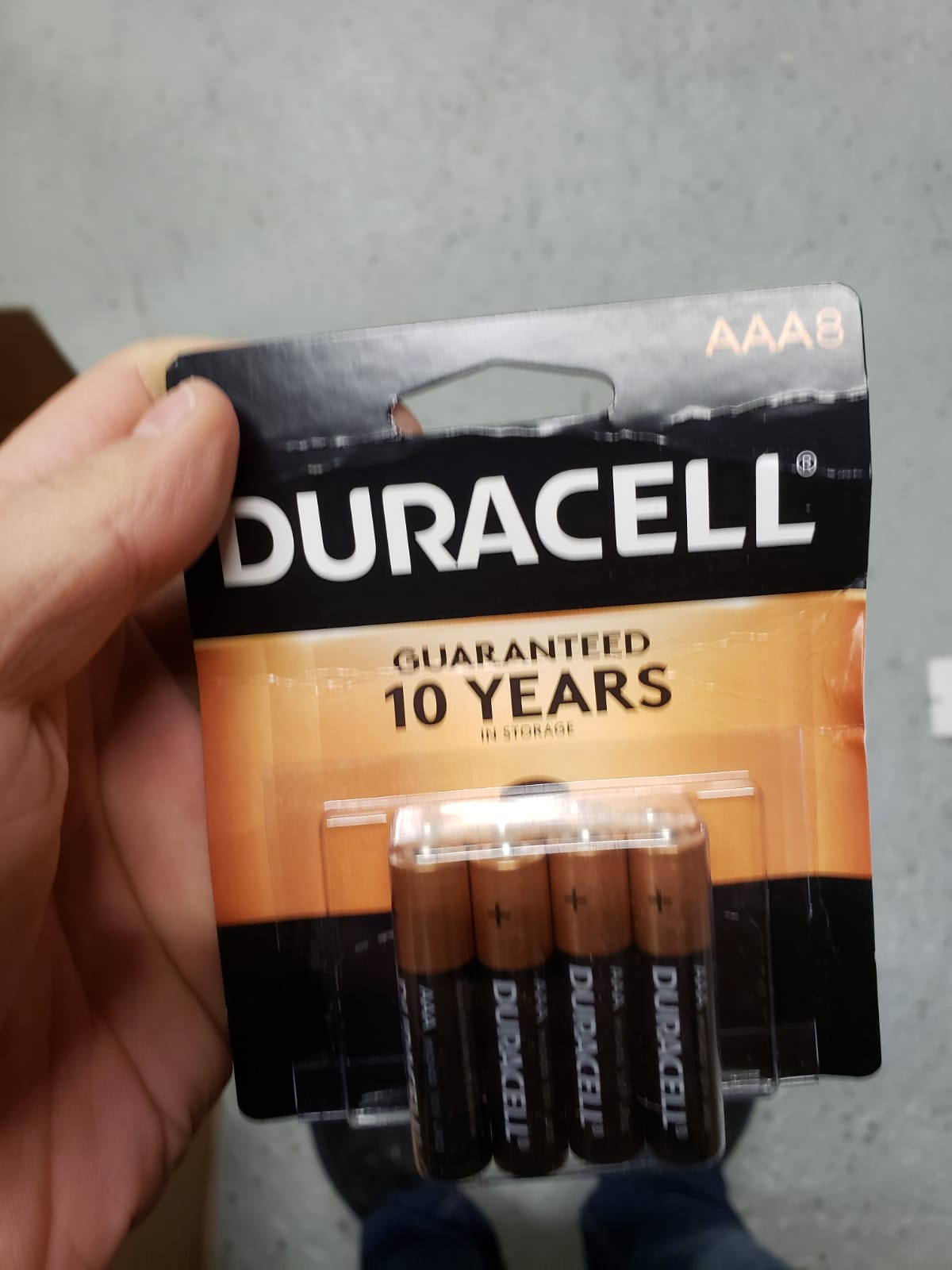 35933 - Duracell batteries USA